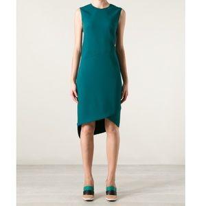 Narciso Rodriguez asymmetric sheath dress